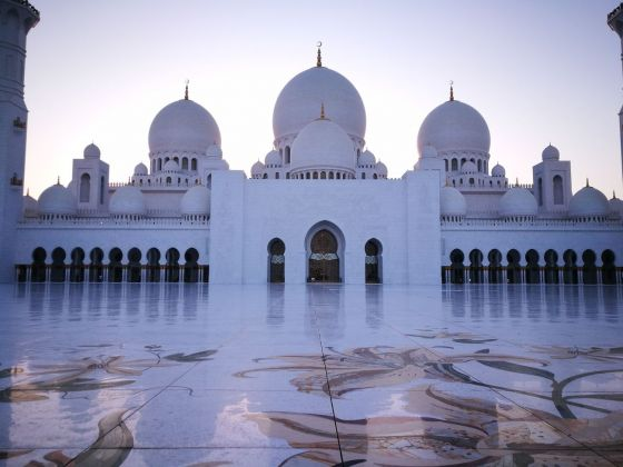 Moschea Sheikh Zayed, Abu Dhabi. Photo Mariacristina Ferraioli