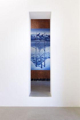 Nicolas Party. Pietra dura. Installation view at kaufmann repetto, Milano 2018