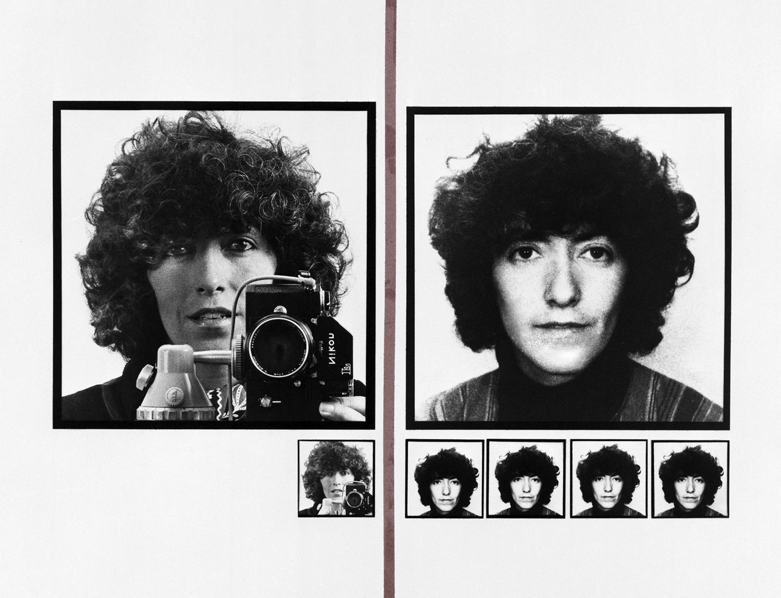 """Paola Mattioli, """"Faccia a faccia: Paola"""", 1977 (dettaglio)"""