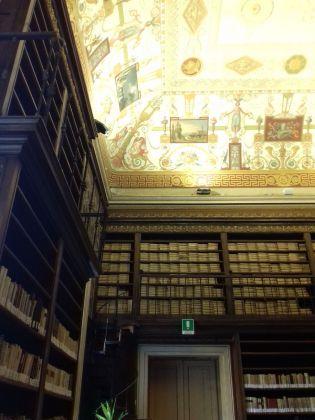 Particolare della Biblioteca Nazionale Vittorio Emanuele III di Napoli