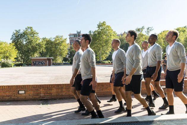 Performance. Eglė Budvytytė. MAXXI.Choreography for the Running Male. Photo Sebastiano Luciano