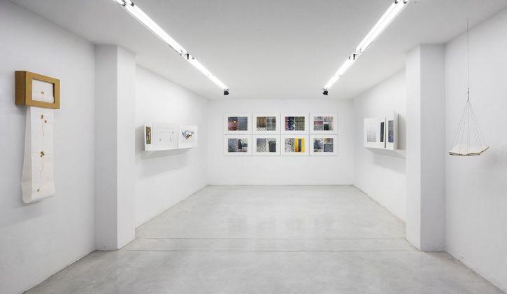 Pia Gazzola. Sorvolo. Exhibition view at Studio La Città, Verona 2018. Photo Lorenzo Karasz