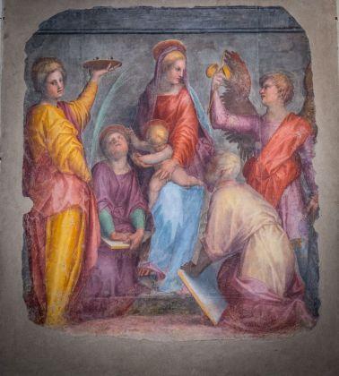 Pontormo, Sacra Conversazione, 1514. Firenze, Basilica della Santissima Annunziata