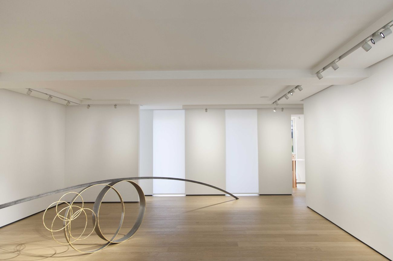 Remo Salvadori. Continuo infinito presente. Exhibition view at Building Gallery, Milano 2018
