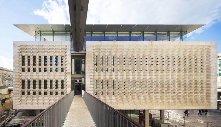 Renzo Piano Building Workshop, Valletta City Gate, 2015. Photo Michel Denancé