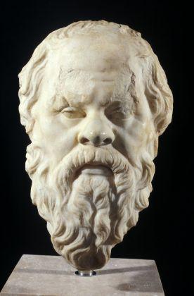 Ritratto di Socrate tipo B, copia romana, metà del I secolo d.C. Roma, Museo Nazionale Romano