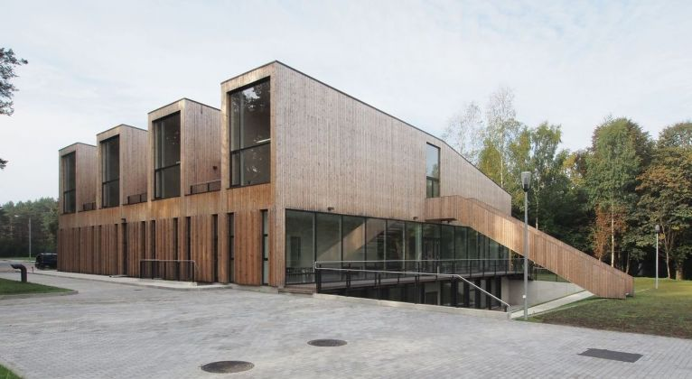 Rupert Arts and Education Centre. Courtesy of Audrius Ambrasas Architects