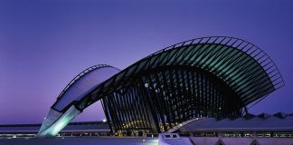 Santiago Calatrava, TGV Railway Station, Lione. © Palladium Photodesign