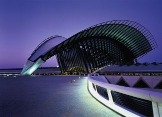 Santiago Calatrava, TGV Railway Station, Lione. © Palladium Photodesign