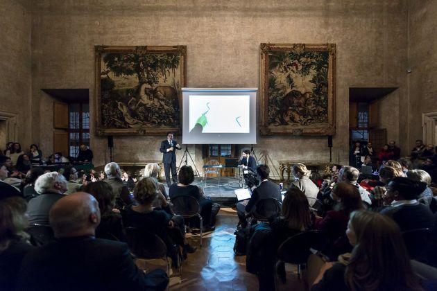 Santiago Calatrava a Roma. © Accademia di Francia Villa Medici, Roma