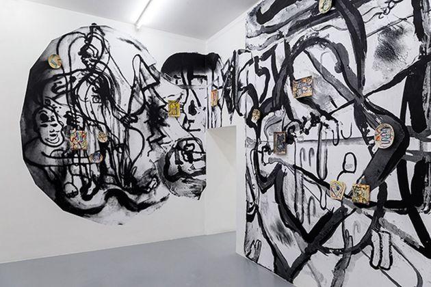 Santiago Cucullu. The new old days. Exhibition view at Galleria Umberto Di Marino, Napoli 2018. Photo Danilo Donzelli