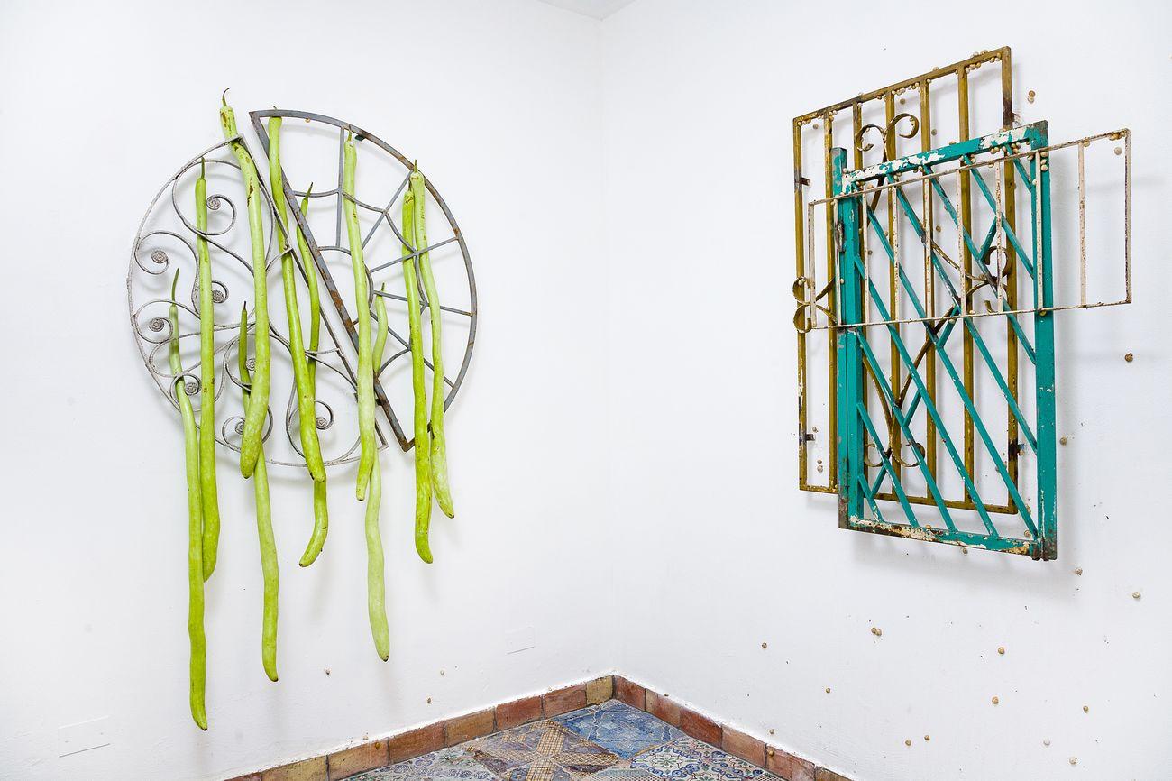 Santiago Taccetti. USEDOMM. Exhibition view at L'Ascensore, Palermo 2016