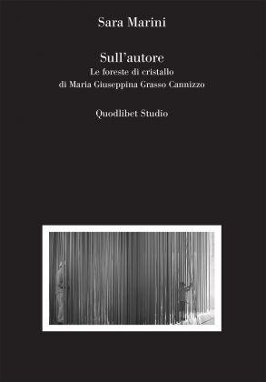 Sara Marini, Sull'autore (Quodlibet, Macerata 2017). Copertina