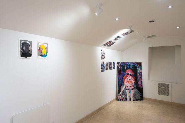Silvia Argiolas e Giuliano Sale. Il Mangiarsi Reciproco. Exhibition view at Richter Fine Art, Roma 2018. Photo credits Giorgio Benni