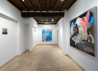 Silvia Argiolas e Giuliano Sale. Il Mangiarsi Reciproco. Exhibition view at Richter Fine Art, Roma 2018. Photo credits Giorgio Benni