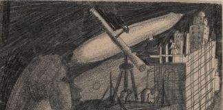 Solomon Nikritin, Composition with Telescope, anni '20. Costakis Collection, Salonicco