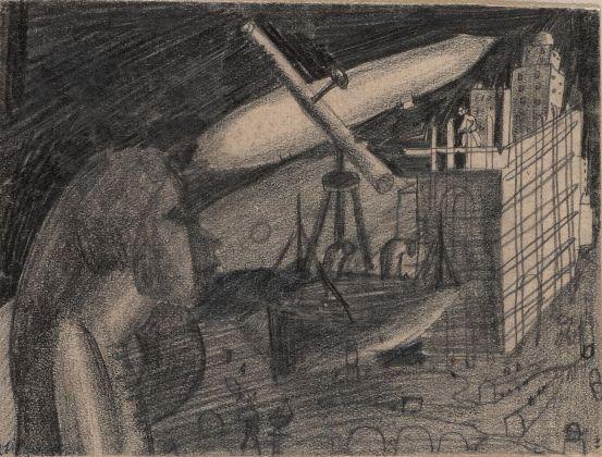 Solomon Nikritin, Composition with Telescope, anni '20. Costakis Collection, Salonicco