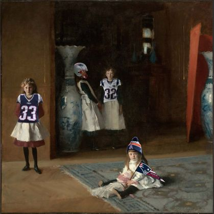The Daughters of Edward Darley Boit, 1882, John Singer Sargent