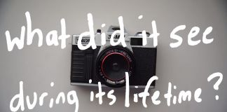 The Life of a Camera
