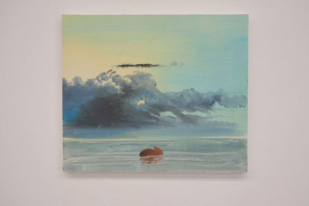 Vedovamazzei, Floating human shit, 2017. Courtesy Galleria de' Foscherari, Bologna