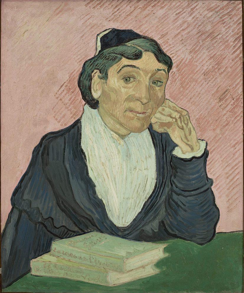 Vincent van Gogh, L'Arlésienne, 1890. Collection MASP Sao Paulo Museum of Art. Photo credit Joao Musa