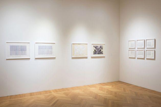 Vincenzo Merola Alighiero Boetti. Diapason. Exhibition view at Galleria Stefano Forni, Bologna 2018