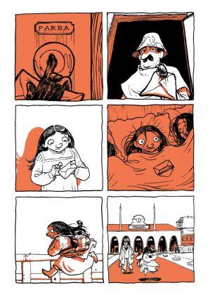 Virginia Tonfoni & Alessio Spataro – Violeta. Corazon Maldito (Bao Publishing, Milano 2017). Pagina 34