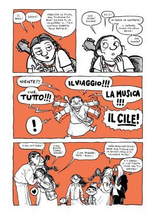 Virginia Tonfoni & Alessio Spataro – Violeta. Corazon Maldito (Bao Publishing, Milano 2017). Pagina 65