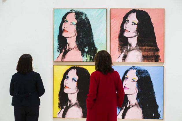 Warhol. El arte mecánico. Installation view at Caixaforum, Madrid 2018