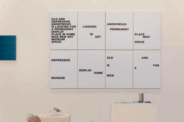 artefiera 2018, galleria p420, goran trbuljak, ph. Irene Fanizza
