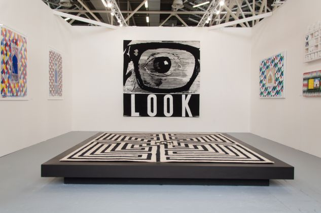 artefiera 2018, galleria antonio verolino, joe tilson, ph. Irene Fanizza