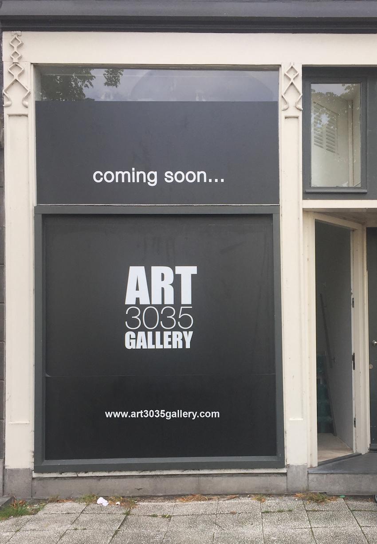 Art 3035 Gallery in allestimento