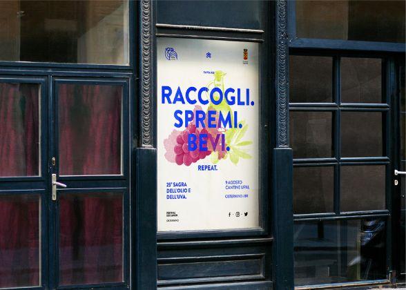 Festival dei Sapori di Cisternino, graphic design di Giuliano M. Guarino
