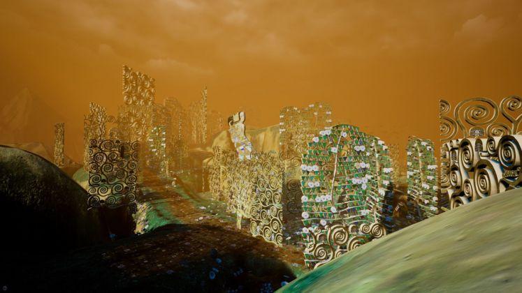 """KLIMT'S MAGIC GARDEN: A Virtual Reality Experience"""