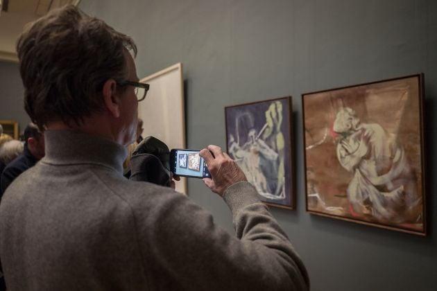 rendez vous, installation view: Istituto Italiano di Cultura Brussel photo credit Elena Foresto