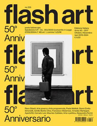 Il numero con la ristampa della prima copertina N° 335 2017