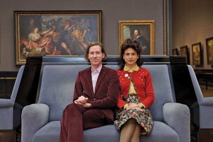 Wes Anderson and Juman Malouf in the Kunsthistoriches Museum. Photo: © KHM-Museumsverband