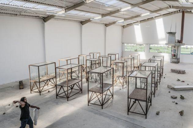 Kader Attia Arab Spring, 2014, courtesy Galleria Continu