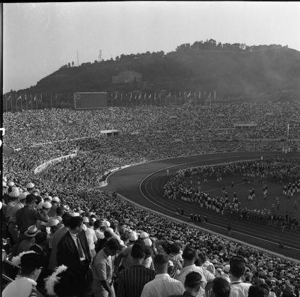 Roma, Olimpiadi 1960: La cerimonia inaugurale, Courtesy Archivio ANSA