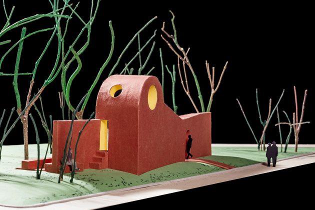 Vatican Chapels, la cappella progettata da Flores & Prats (modello di studio)