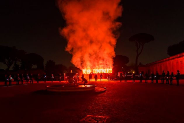 Art Club, Piero Golia, Foto Sebastiano Luciano