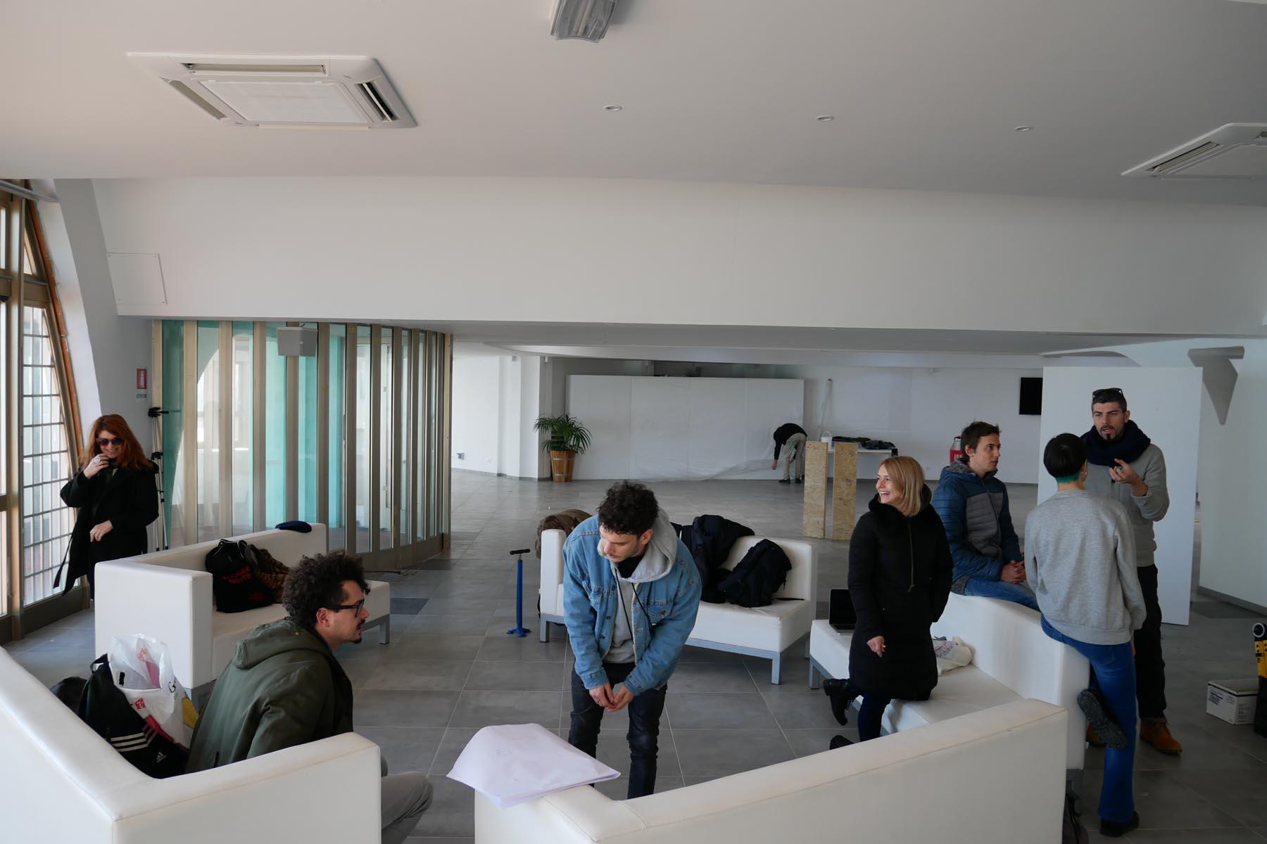 Migrart, arte come incontrotro, Lignano Sabbiadoro, vista della residenza