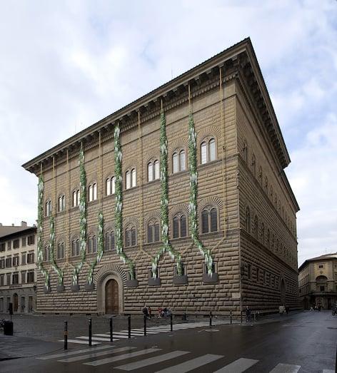 Facciata di Palazzo Strozzi (Rendering di Michele Giuseppe Onali)