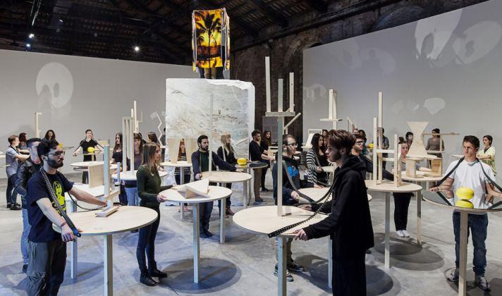 LA VOGLIA MATTA 2013, Installation and performance, Vice versa,Italian Pavilion 55th, La Biennale di Venezia, photos by Okno Studio, Courtesy dell'artista e Galleria Raffaella Cortese, Milano