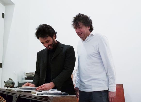Sergio Casoli e Mattia De Luca