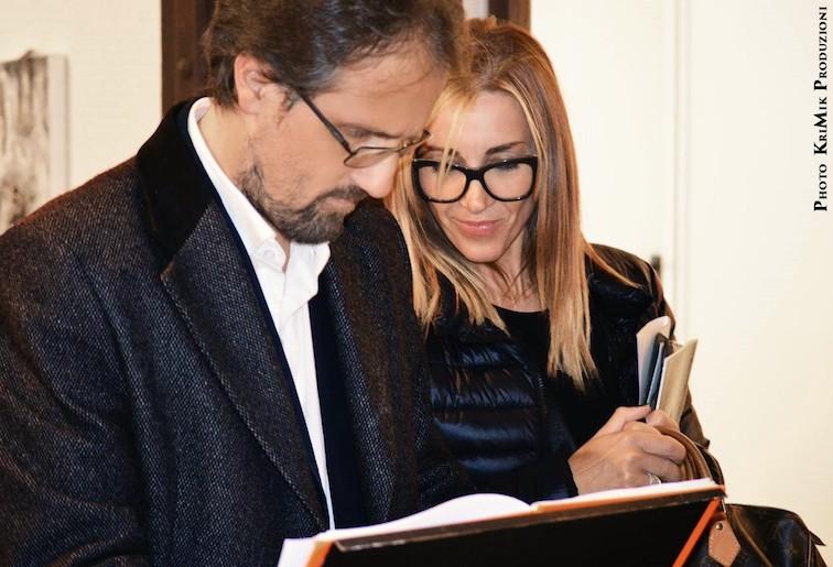 Luca Nannipieri e Patrizia Ennas