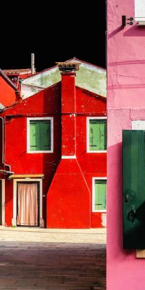 Carmela Cipriani, La casa rossa, 2017, Fine art print on 100% cotton paper, cm 50x 100, Edition:5