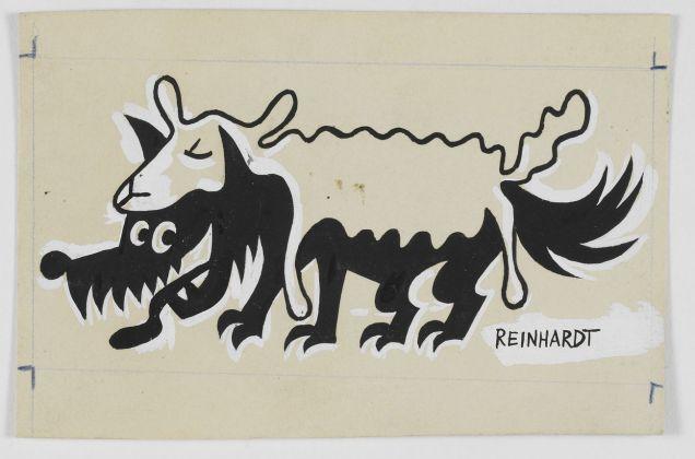 Ad Reinhardt, Untitled, c. 1943-1947. © Estate of Ad Reinhardt. Courtesy David Zwirner, New York-London-Hong Kong