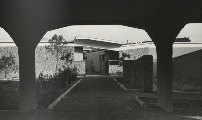 Adalberto Libera, Unità di Abitazione Orizzontale, 1950-54, Tuscolano, Roma