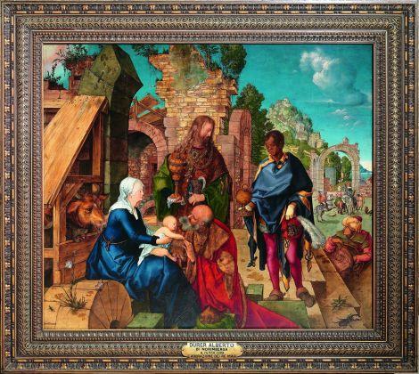 Albrecht Dürer, Adorazione dei Magi, 1504. Firenze, Galleria degli Uffizi. Photo © Gabinetto Fotografico delle Gallerie degli Uffizi